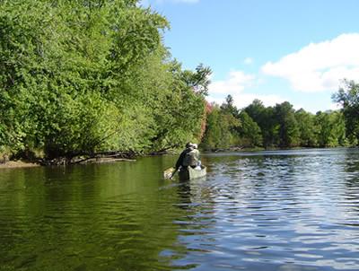 Peshtigo River canoe trip
