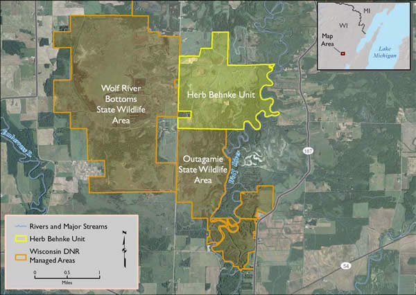 Preservation of the Wolf River Bottomlands Natural Resource Area