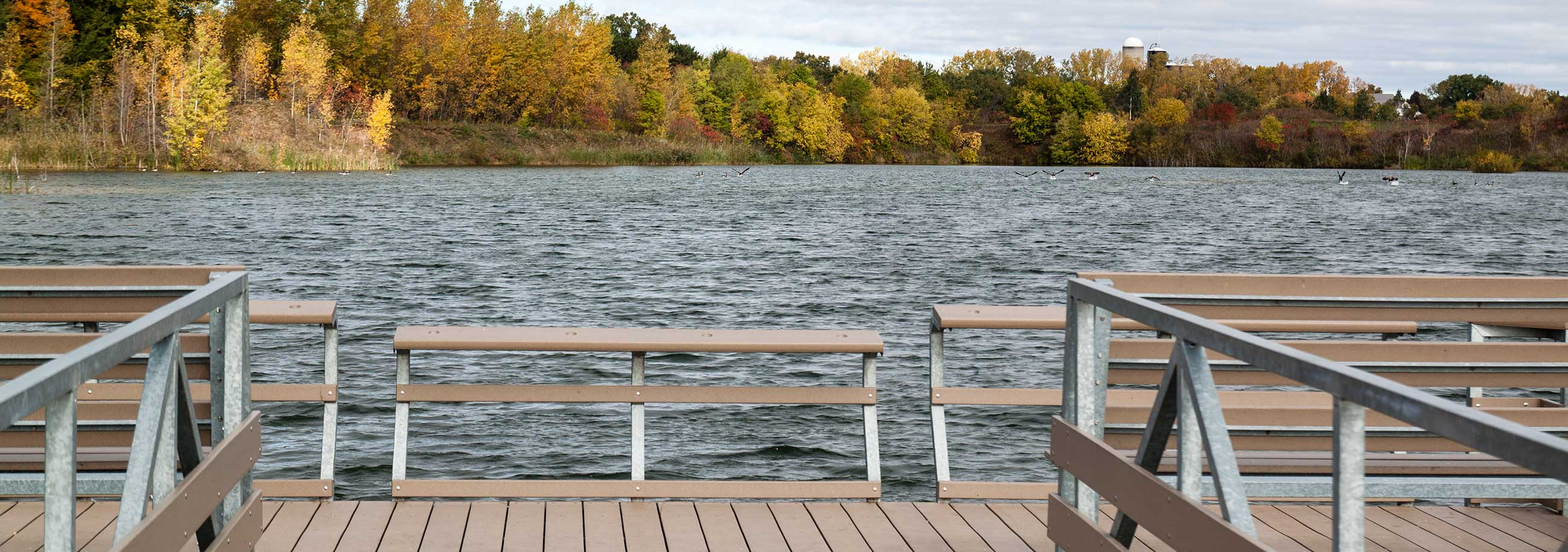 Pier on Water from Fox River Trustee Council