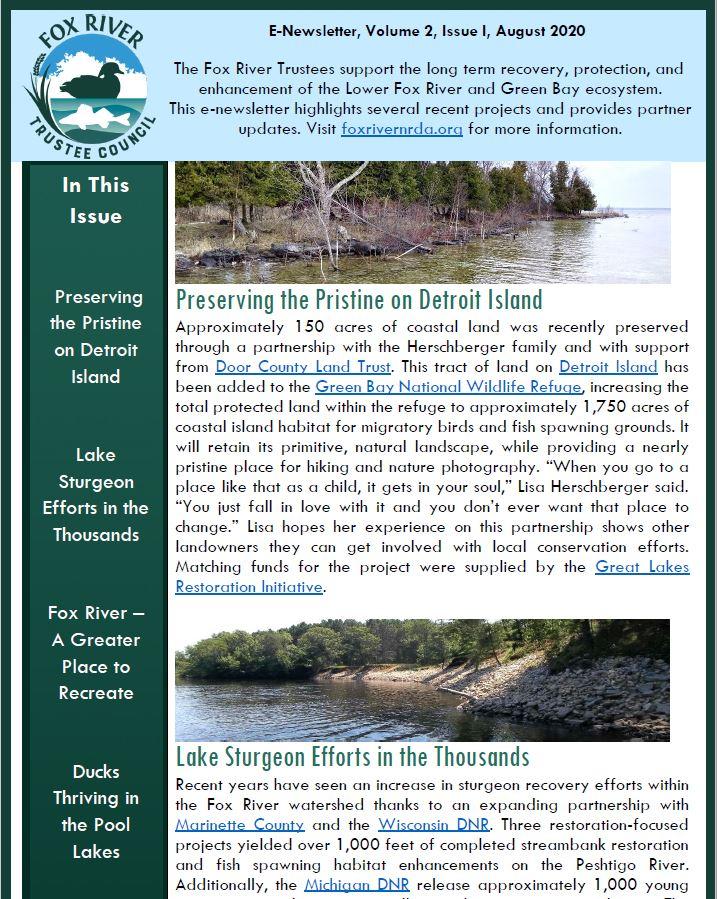 Photo of Newsletter
